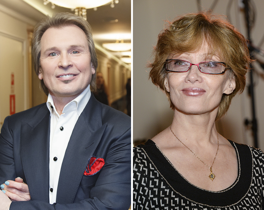 Александр Малинин и Ольга Зарубина