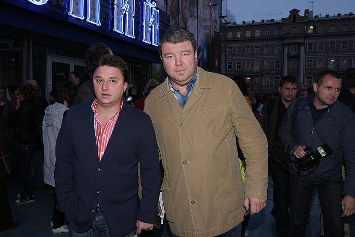 Александр Робак и Максим Лагашкин
