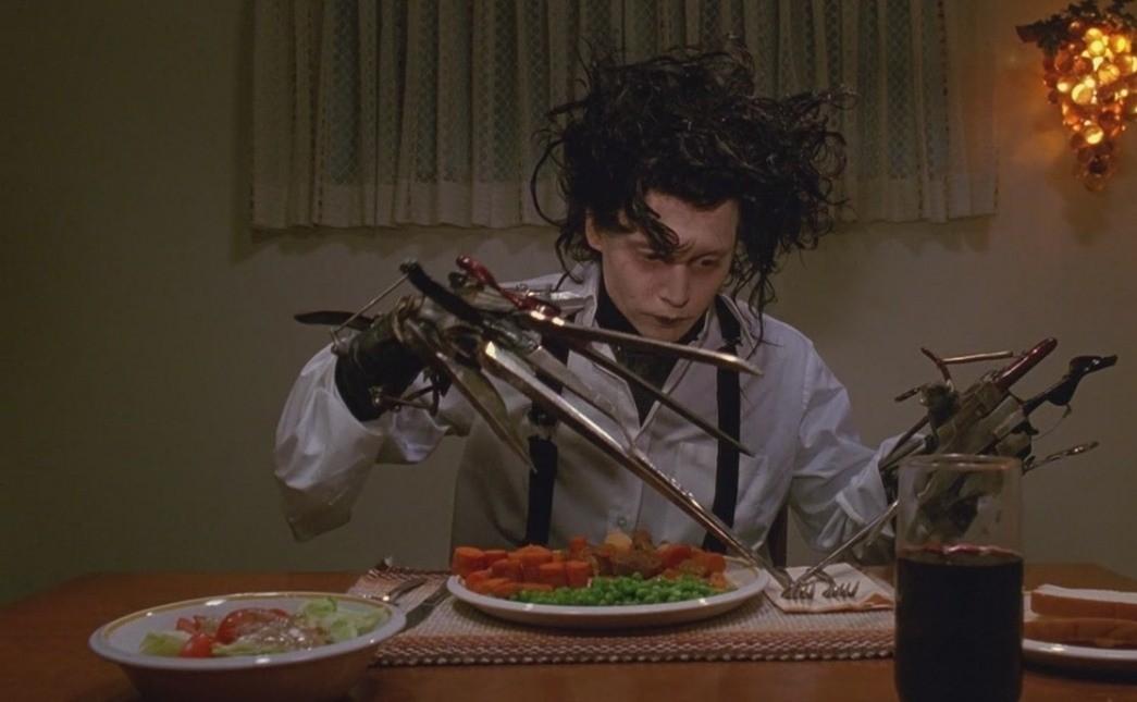 «Эдвард Руки-ножницы»- Эдвард (1990 год)